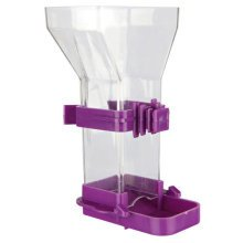Food Dispenser, 100 Ml/10cm - Dispenser Trixie Plastic Birds 4 5430 Colours -  food dispenser trixie plastic birds 4 5430 colours fill