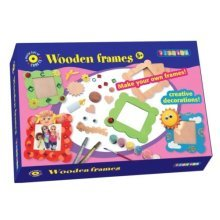 Make Your Own Wooden Frames Craft Set -  playbox craft set wooden frames