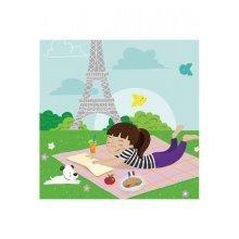 Wooden puzzle - Collection Paris: Picnic in Paris