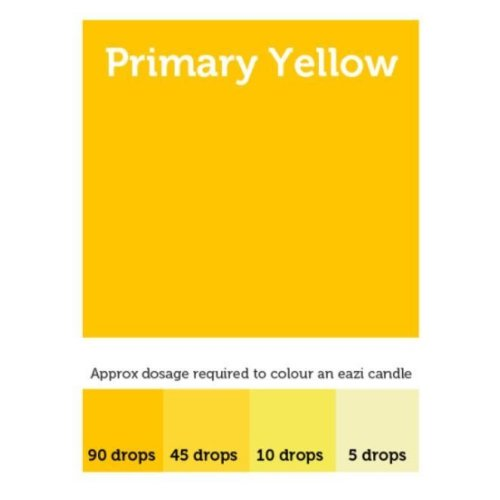EaziCandle Primary Yellow High Intensity Liquid Candle Dye