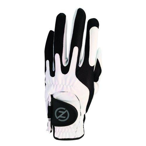 Zero Friction Men's Golf Glove, Left Hand, One Size, White