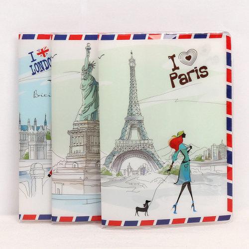 London Paris Holiday Passport Cover