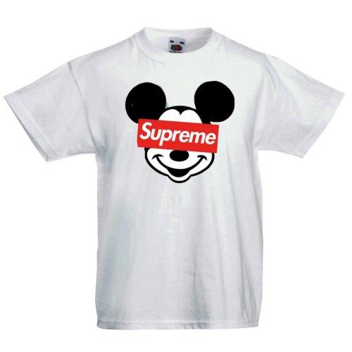 Supreme Mickey Mouse Logo