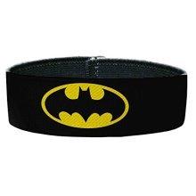 Batman DC Comics Superhero Classic Shield logo Plastic Bracelet