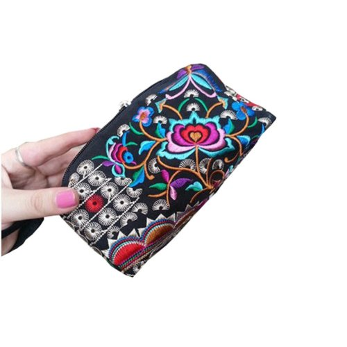 Ethnic Style Needlecrafts Handmade Embroidery, Purse & Hand bag & Purse(I)