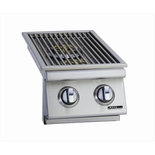Bull Outdoor Products 30009 Slide-In Double Side Burner Natural Gas