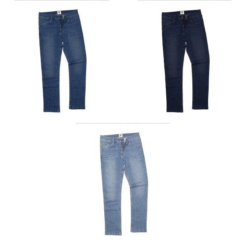 AWDis So Denim Mens Leo Straight Fit Jeans