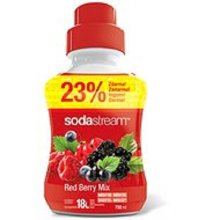 Sodastream Concentrate Syrup 750ml. Red Berry Mix