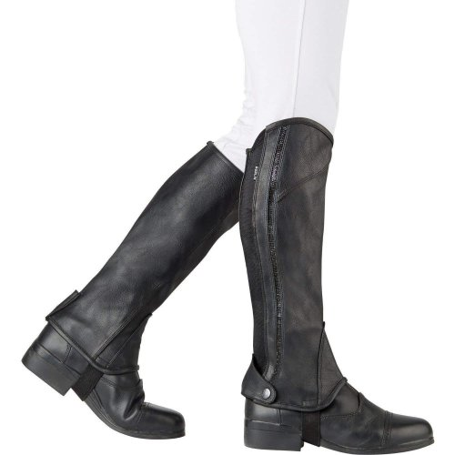 Dublin Childrens/Kids Stretch Fit Sparkle Half Chaps