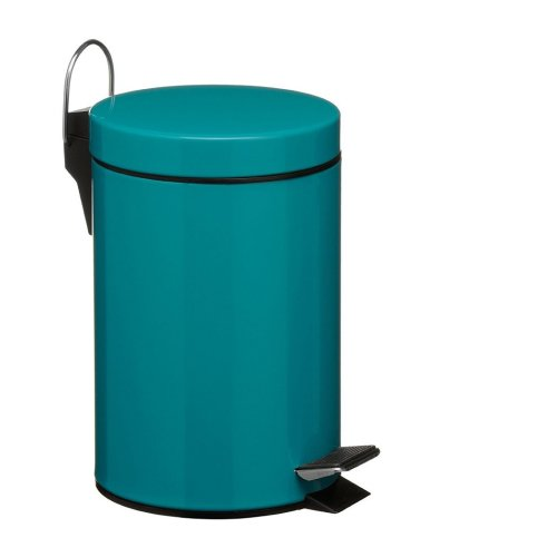 3 Litre Pedal Bin - Turquoise