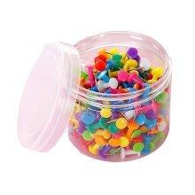 Set Of 200 Transparent Nail/Creative Color Nail/Pushpin