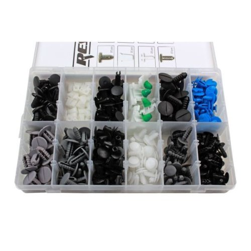 RESOLUT Fiat Assorted Trim Clips 308 Pieces 9045