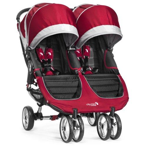 Baby Jogger City Mini Double Stroller Crimson