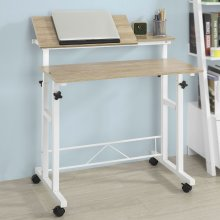 SoBuy® FWT46-W, Height Adjustable Standing Desk Computer Art Craft Desk