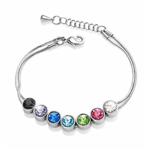 0da7b39bd Bezel Set Bracelet Created with Swarovski Crystals on OnBuy
