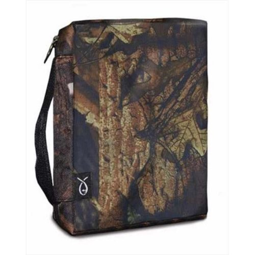 Divinity Boutique 06093X Bible Cover Basic Extra Large Autumn Forest Camo