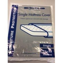 Single Mattress Cover - Removals Storage Polythene