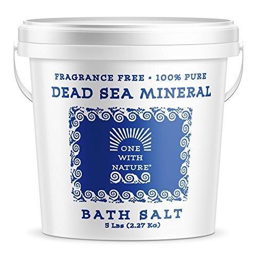 100 Pure Dead Sea Mineral Bath Salt 5Lb Frag Free