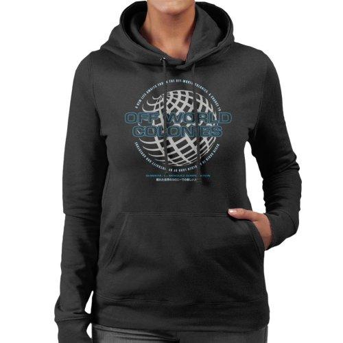 Off World Colonies Blade Runner Women's Hooded Sweatshirt