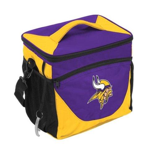 Logo Brands 618-63 Minnesota Vikings 24 Can Cooler