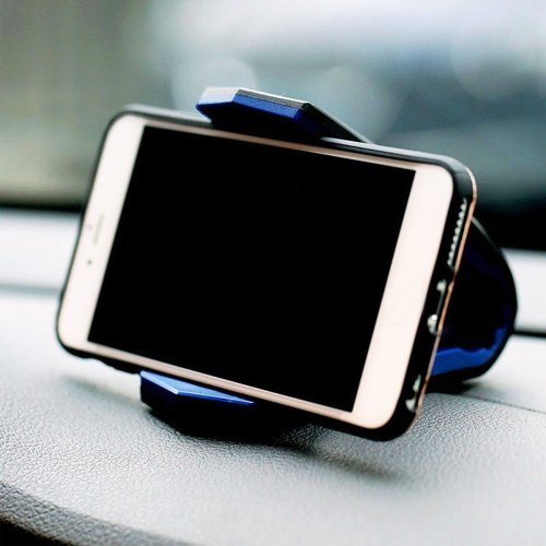Universal Car Dashboard Mount Holder Phone Stand Cradle for iPhone Samsung Xiaomi Huawei