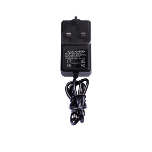 SHEMSINZ UK plug AC 110-240V To DC 12V 2Amp Power Supply 2.1mm X 5.5mm Plug Converter Adapter 12 Volt for CCTV Camera DVR Security System Video &...