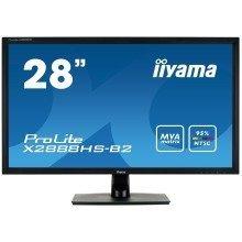 """Iiyama Prolite X2888hs-b2 28"""" Full Hd Mva Matt Black Computer Monitor"""