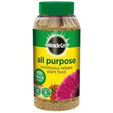 Miracle-Gro Continuous Release Plant Food Shaker Jar 1kg - All Purpose