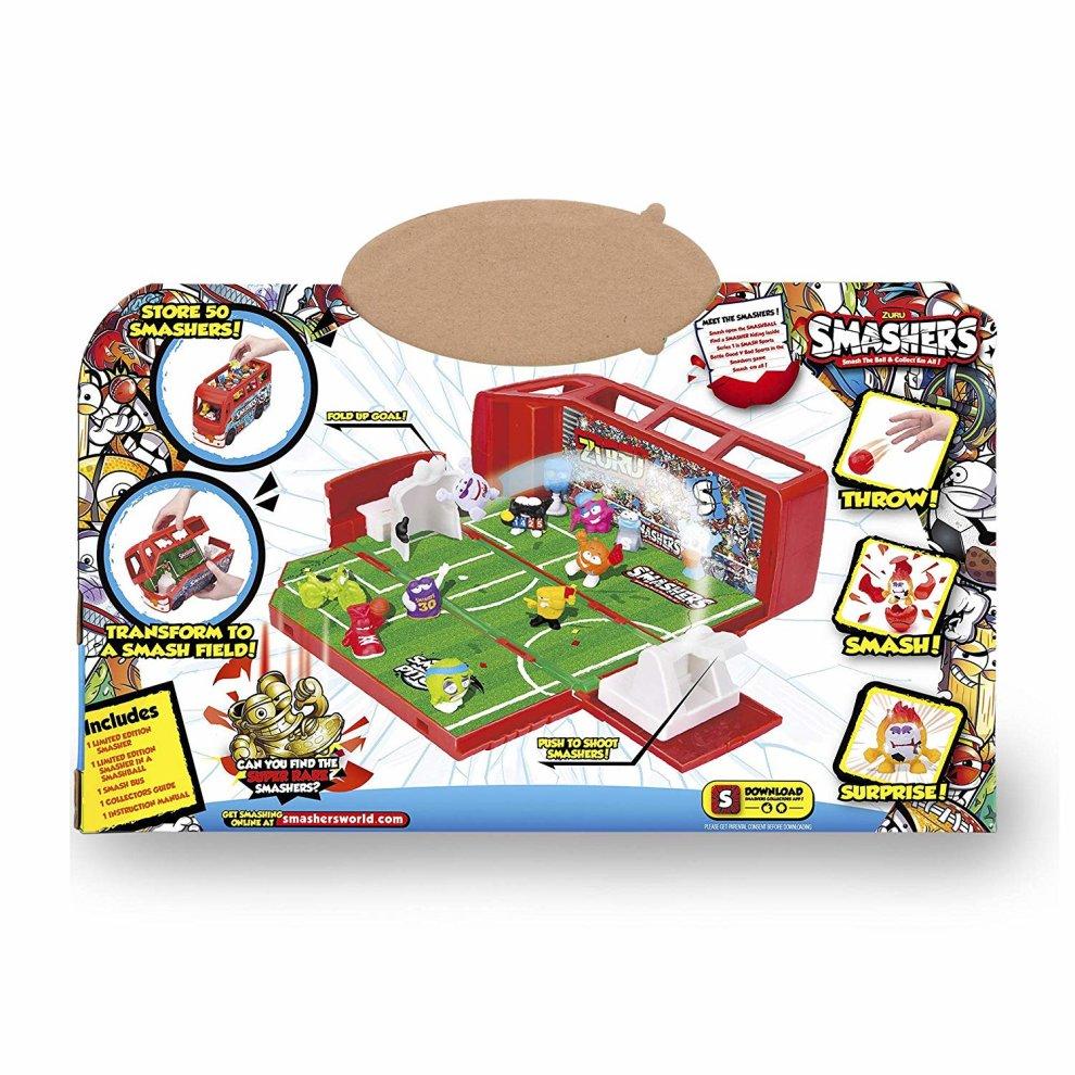 Speelgoed en spellen Smashers Smash Football Team Bus With 2