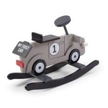 CHILDWOOD Rocking Car My First Car Grey and Black CWRFCG