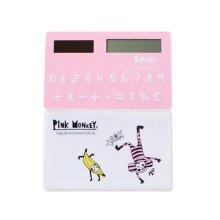 Creative Mini Solar Card Calculator Child Count Toy/Office Supplies,B9
