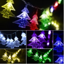 Batteries Powered Outdoor Fairy String Light Christmas Wedding Xmas Party Decor Lamp