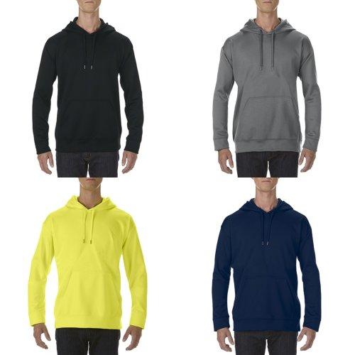 Gildan Adults Unisex Performance Tech Hooded Sweatshirt