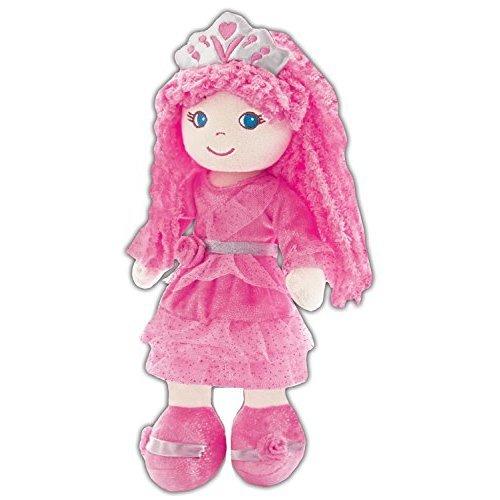 GirlznDollz Leila Pink Princess Baby Doll, Pink
