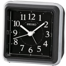 Seiko Bedside Ascending Beep Alarm Clock - Black (QHE090K)