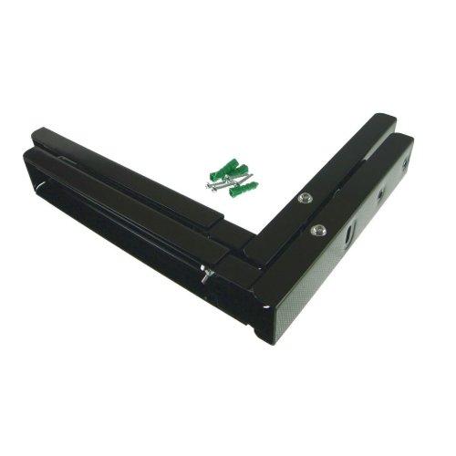 Tesco Universal Microwave Wall Bracket Extendable Arms Black