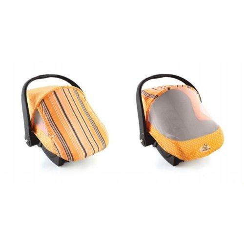 EVC 40014Orange Stripe Cozy Sun & Bug Cover