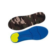 """Camouflage Elastic Moisture-wicking Insoles Pain Relief Shoe Insoles (S, 9"""")"""