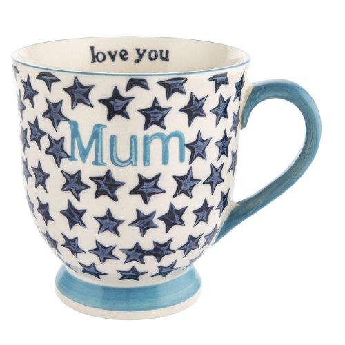 Bohemian Stars Mum Ceramic Mug
