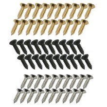 Scratchplate/Pickguard Screws x 20 for Tele/Telecaster Strat/Stratocaster