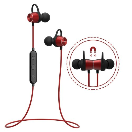 Bluetooth Earphones (Magnetic Design), Mpow Wireless Headphones Bluetooth 4.1 Stereo Earbuds IPX7 Sweatproof Running Headphones for iPhone, iPad,...