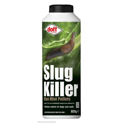 800g Mini Blue Doff Slug Killer Pellets - Insect Control Plants Garden Gardening - Doff Slug Killer Blue Mini Pellets 800g Insect Control Plants