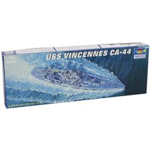 Trumpeter 1/700 USS Vincennes CA44 Heavy Cruiser Model Kit