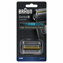 Braun 92B Series 9 Electric Shaver Replacement Cassette Cartridge Foil - Black