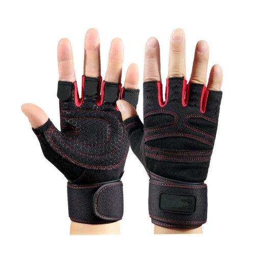 A Pair Dumbbell Training Equipment Non-slip Gloves Knee Braces Fitness