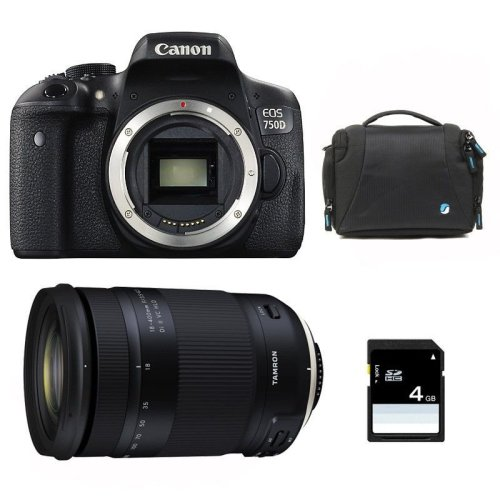 CANON EOS 750D + TAMRON 18-400mm F3.5-6.3 DI II VC HLD (B028)