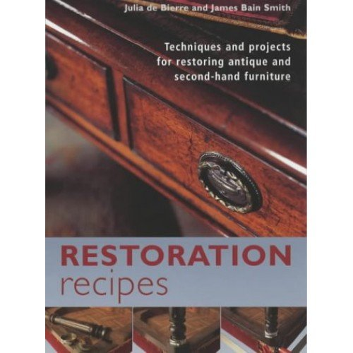 Restoration Recipes: A Sourcebook of Techniques and Projects for Restoring Antique and Second-hand Furniture