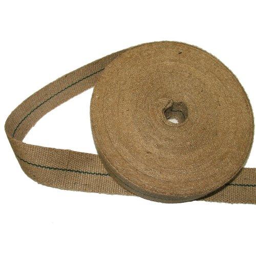 Pandoras Upholstery 12 lbs 2-inch Jute Webbing in 33 m Roll, Brown