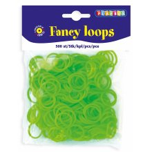 * Playbox - Loops (Loom Bands)- 500pcs green