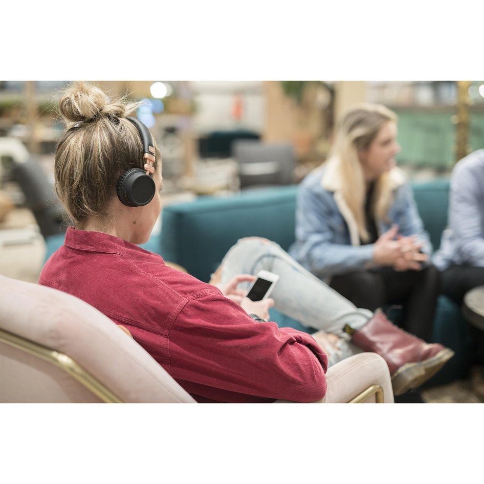 65db9ed9035ac1 ... KitSound Harlem Wireless Bluetooth On-Ear Headphones with Mic - Rose  Gold - 8 ...